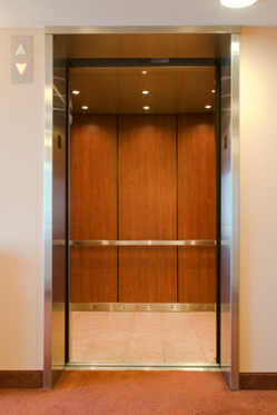 LED Concealed Lighting in Lift