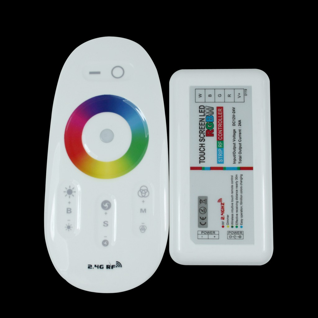 Led Controllers Pwm Dc 12v 8a Rf Remote Dimmer Is A Controller That Can Rgb W