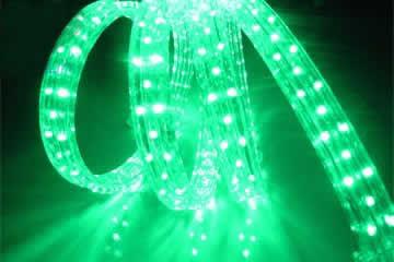 Green LED Rope Lights