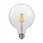 LED 6.5W FILAMENT GLOBE E27 BULB
